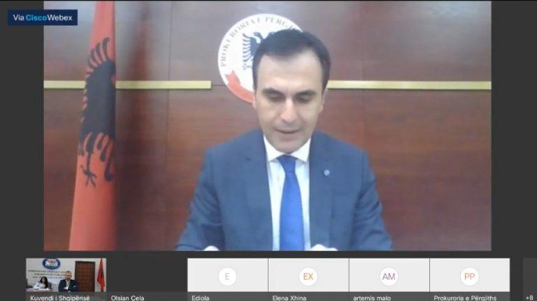 Ulen trafiqet e paligjshme, Olsian Çela raporton në Komisionin e Ligjeve: Rriten procedimet penale