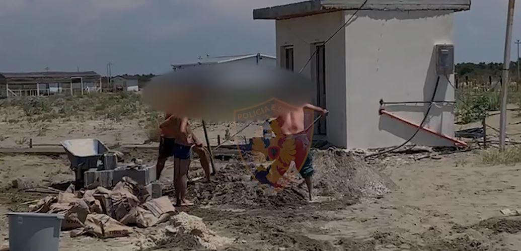 Ndërtime pa leje në zonë publike në Darzezë, arrestohen 4 persona