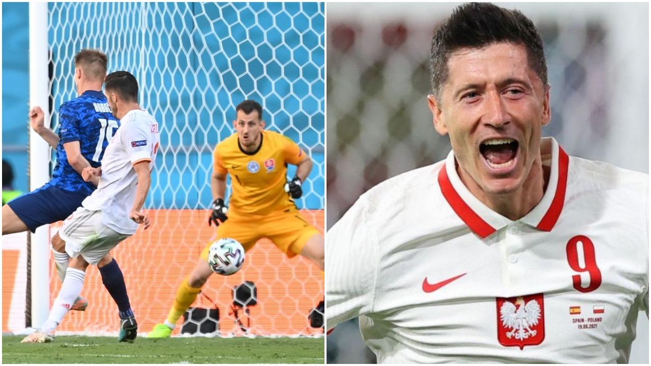 """VIDEO/ """"Poker"""" i Spanjës, dy gola për dy minuta në Rusi! Reagon Polonia"""
