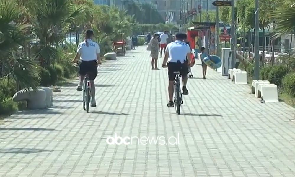 Mbi 1500 efektivë angazhohen për sezonin turistik, patrullim edhe me biçikleta