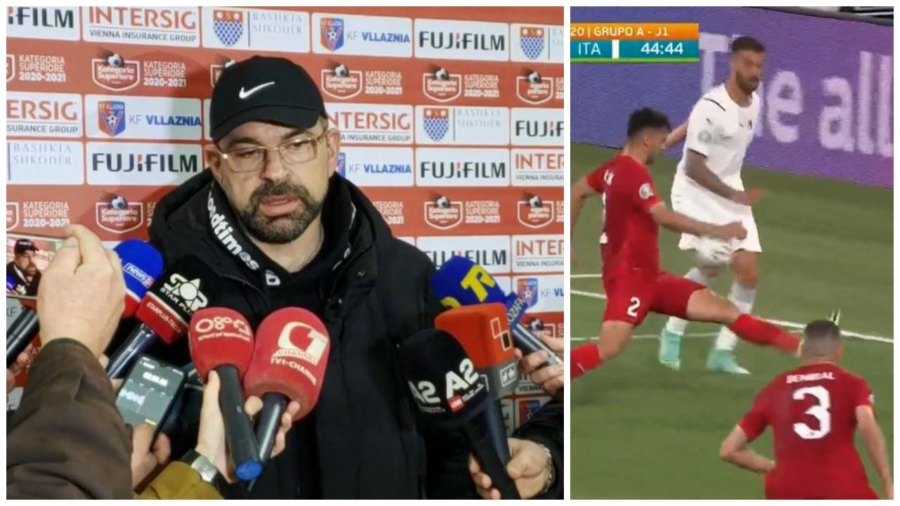VIDEO/ Italisë nuk iu dha penallti, Olsi Rama bën reagimin epik: Duan Enea Jorgjin ata!