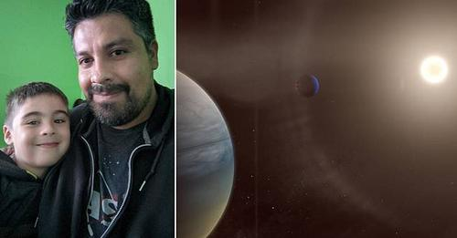 Babë e bir zbulojnë dy ekzoplanetë të gaztë