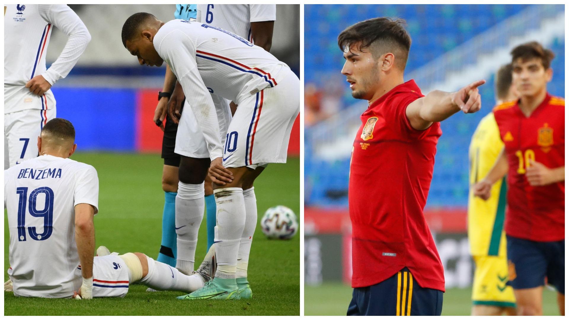 """VIDEO/ Franca bind ndaj Bullgarisë, por humb Benzema. """"Fëmijët"""" e Spanjës janë """"zjarr"""""""