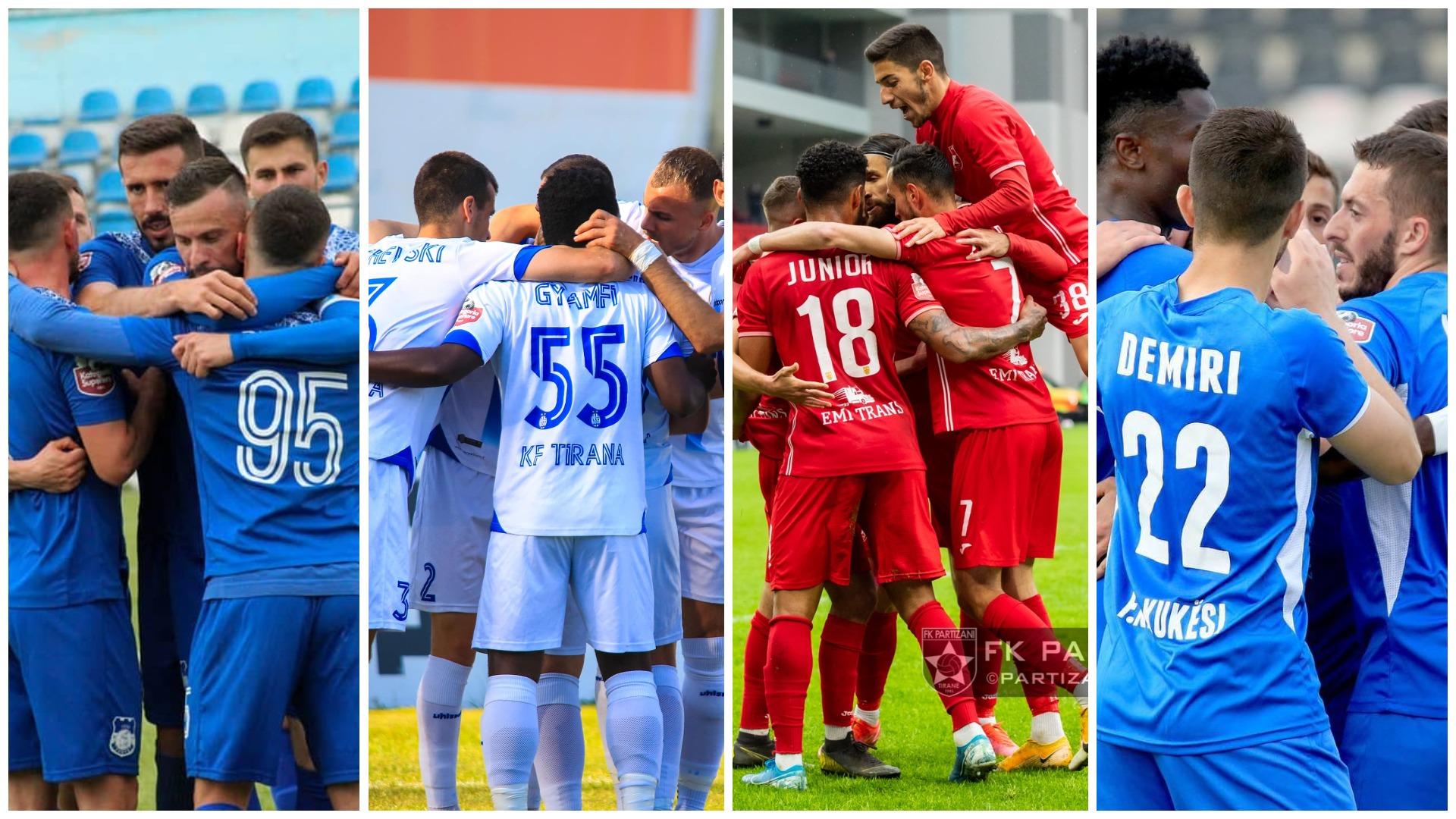 Tabela e transferimeve: Dinamo revolucion, sa ndryshime te Kukësi e Partizani