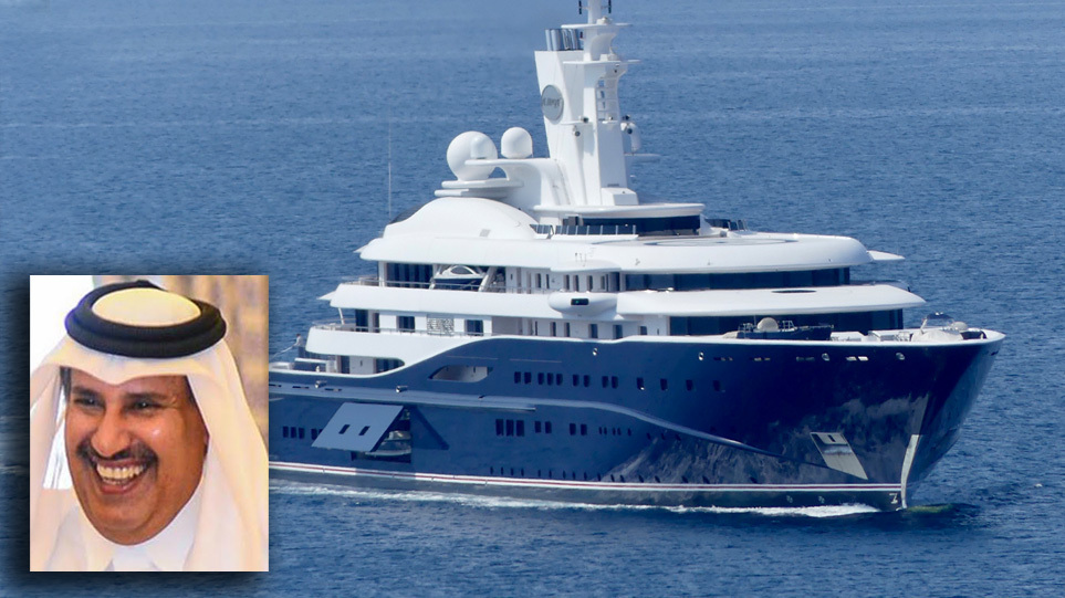 """FOTO/ Jahti 300-milion dollarësh """"pushton"""" ishullin grek, kush është sheiku që ktheu sytë e pushuesve"""