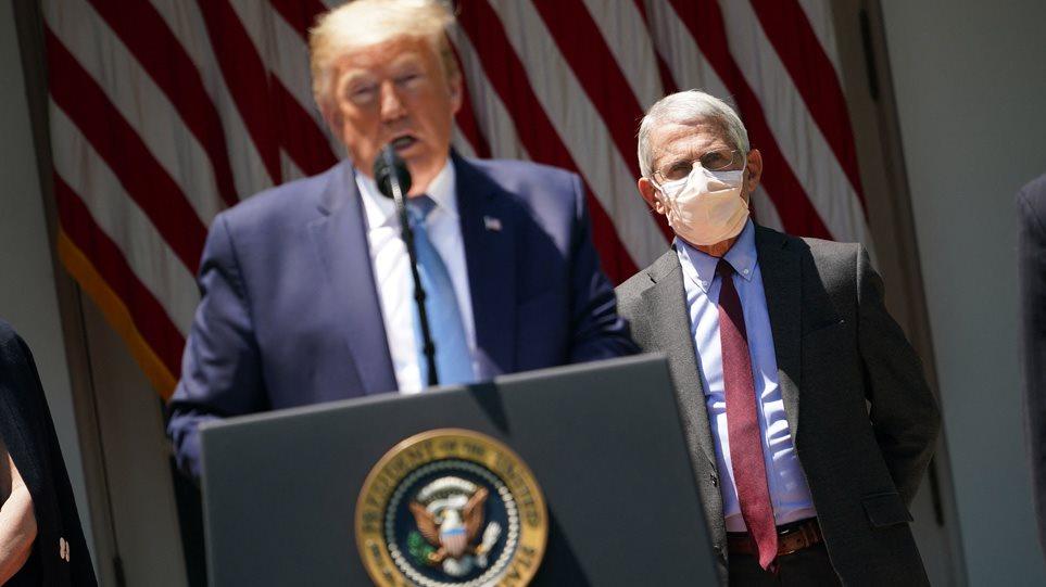 Donald Trump akuzon Faucin: Ishte në dijeni për origjinën e koronavirusit