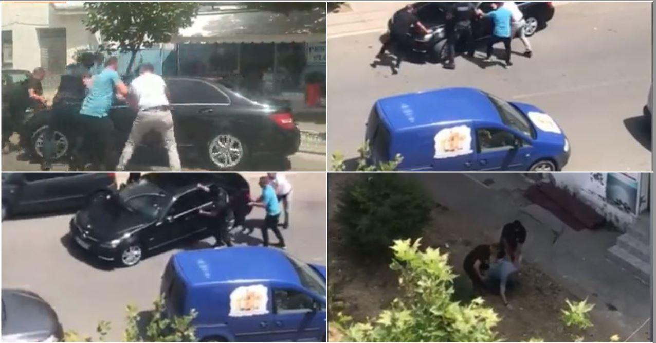 """Aksion si në filma te """"Varri Bamit"""", """"Benzi"""" u ikën nga duart, policët shtrijnë gazetarin: Hape derën"""