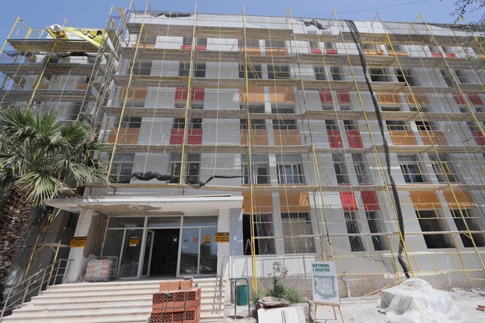 Rama poston foto nga rindërtimi i spitalit pediatrik të Elbasanit: Punimet po ecin me ritme të larta