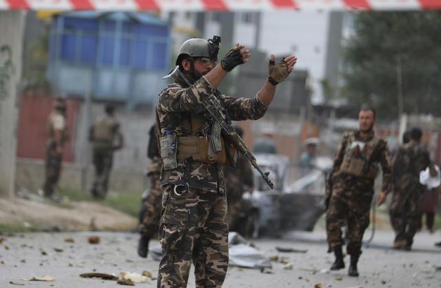 Tre raketa goditën pallatin presidencial të Afganistanit në Kabul gjatë lutjeve të Kurban Bajramit