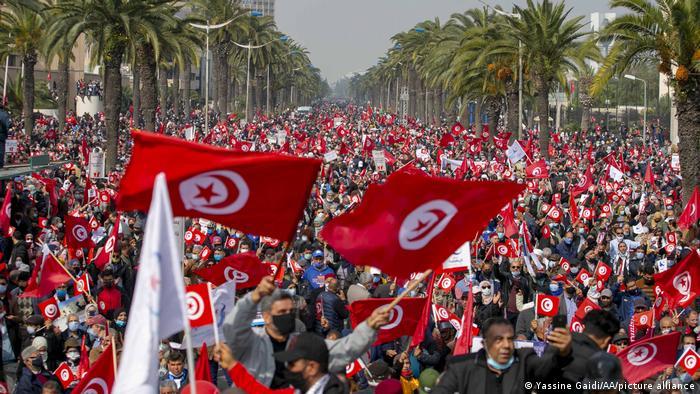 Ndërkombëtarët apel Tunizisë: Shmangni dhunën