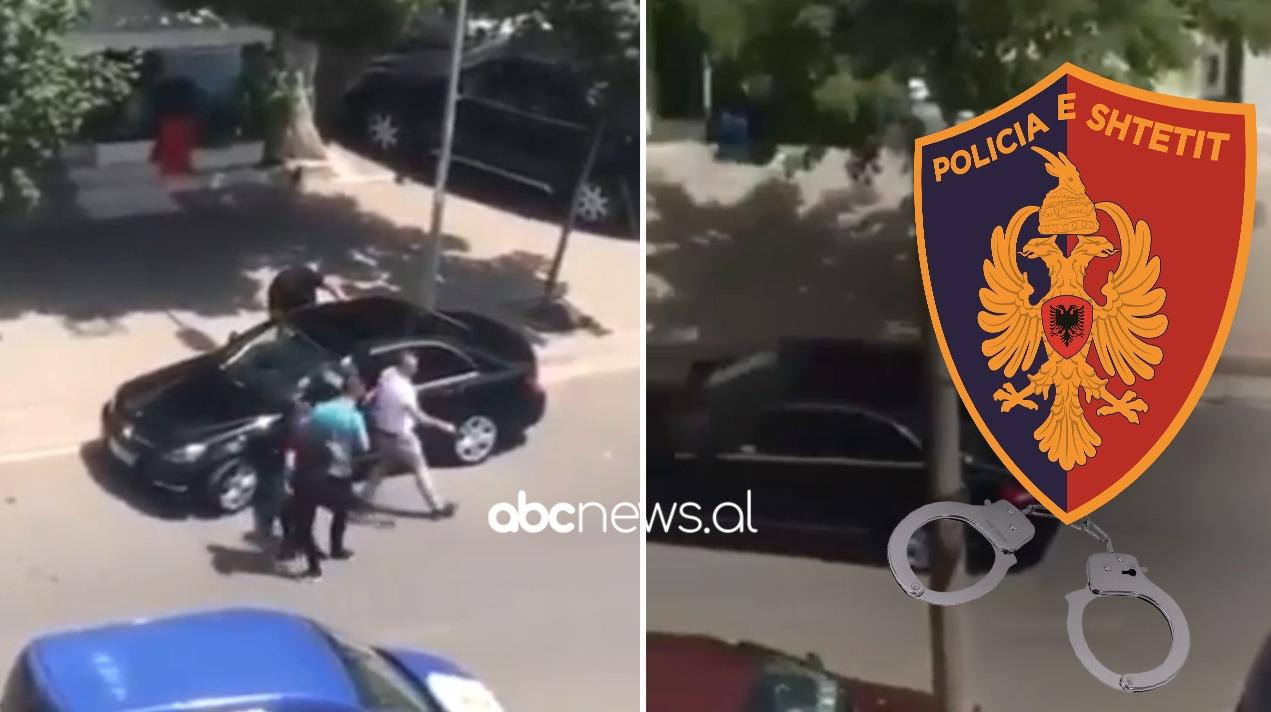 Kaloi mes përmes policisë, ndalohet makina e zezë në Tiranë, 5 të arrestuar, sekuestrohet kokaina