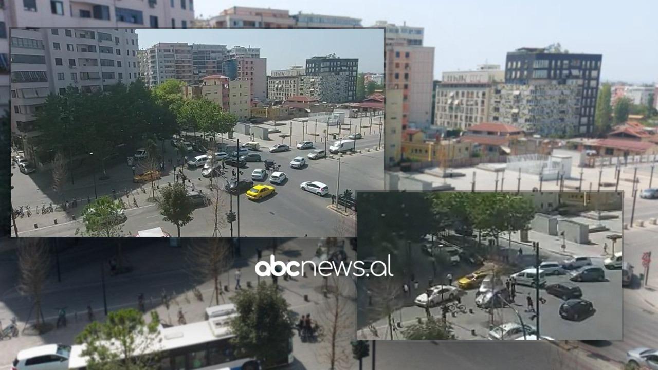 Kush kalon i pari? Makinat përplasen në kryqëzim në Tiranë