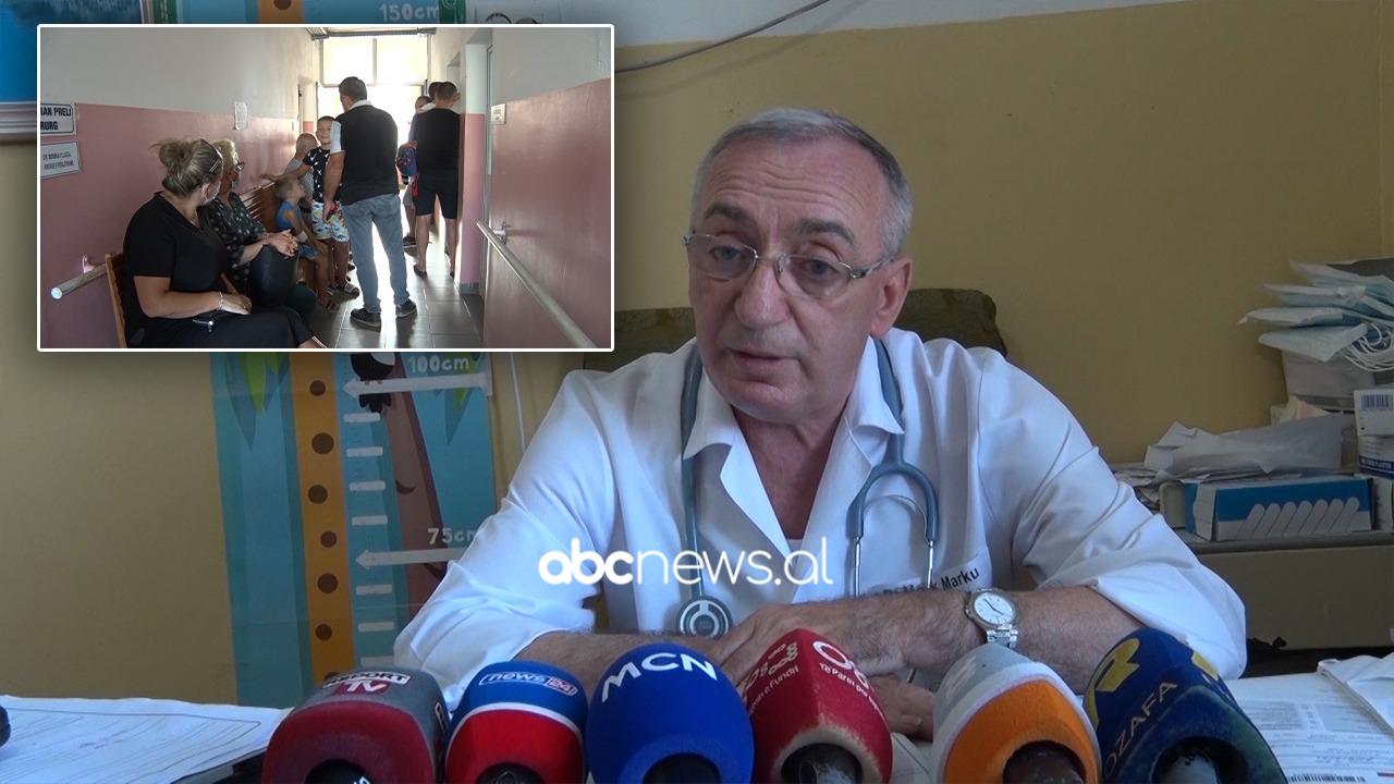 Shpërthejnë virozat në Lezhë, 80 fëmijë në ditë, shefi i pediatrisë: Na sillni infermiere dhe shtretër
