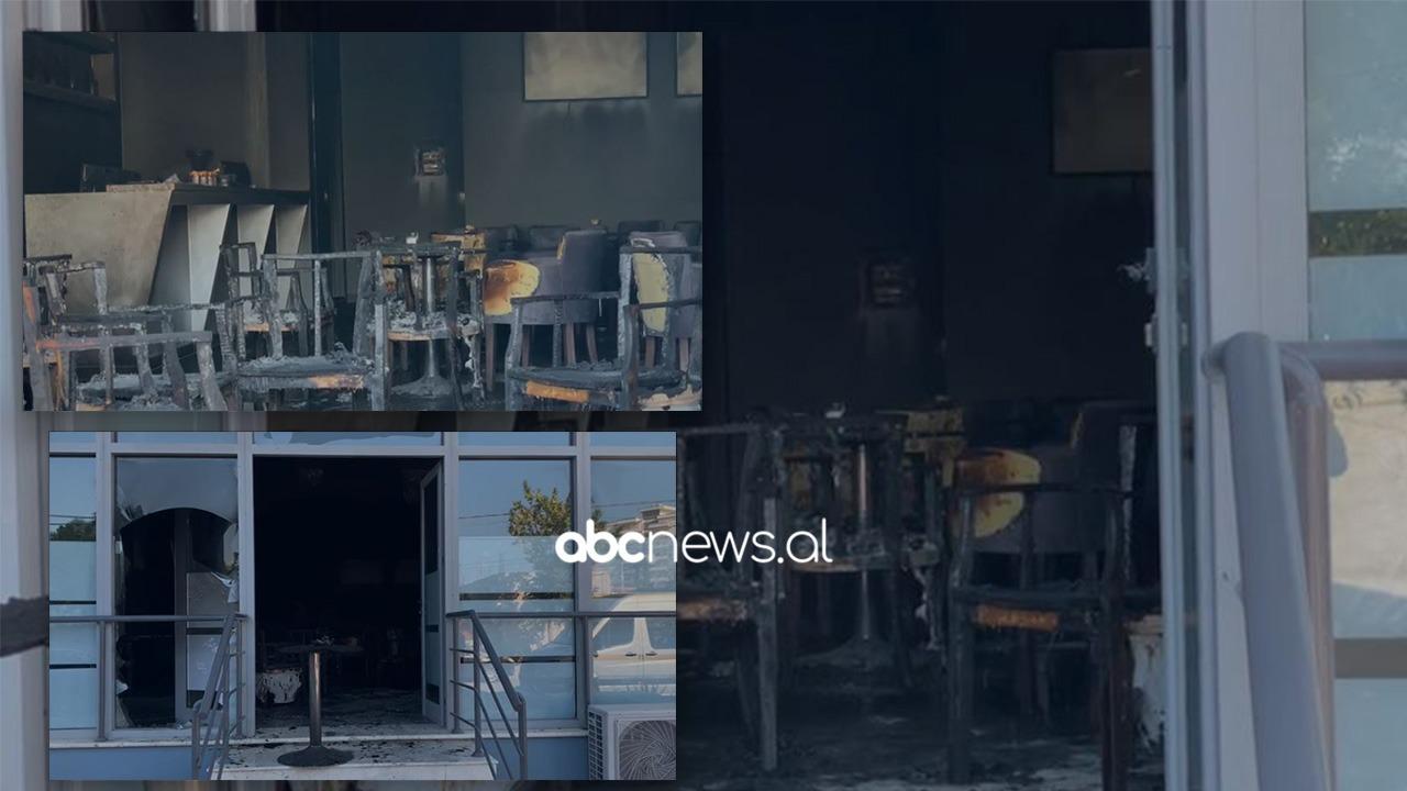 Digjet gjatë natës një lokal në Vlorë, disa persona hodhën benzinë