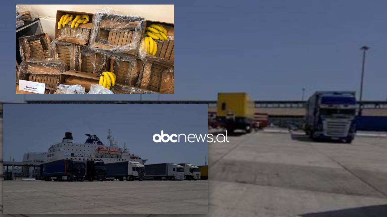 Kontejneri me banane në Portin e Durrësit: Sekuestrohen 14 pako kokainë, dy të shoqëruar