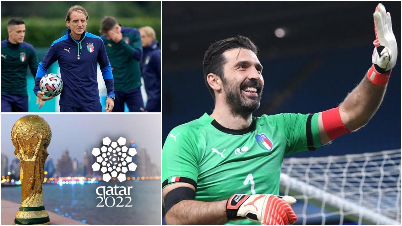 Rekordi unik, Buffon: Ëndërroj Katar 2022, edhe pse Mancini s'do më ftojë