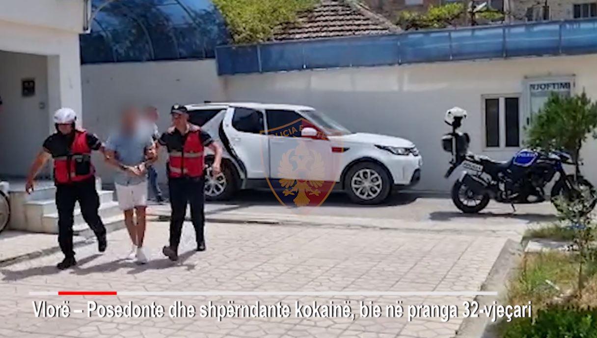 Kokainë gati për ta shitur, kapet 32-vjeçari në Vlorë