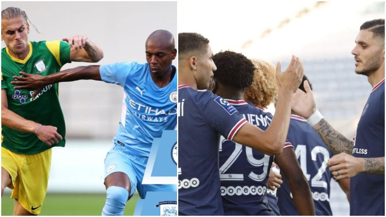 VIDEO/ Miqësoret: City fiton pa probleme, barazim spektakolar në Sevilla-PSG