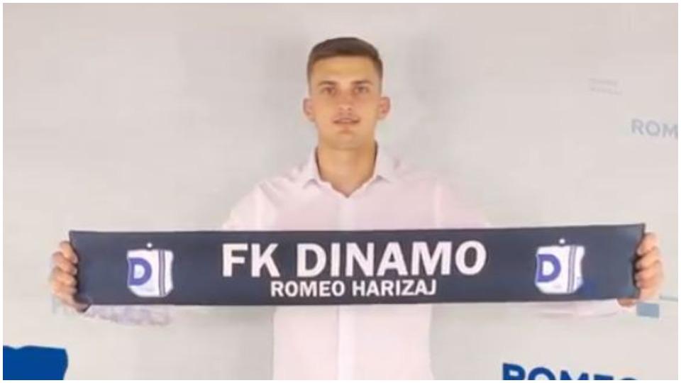 """Romeo Harizaj mbetet në Superiore, Dinamo """"blindon"""" edhe portën"""