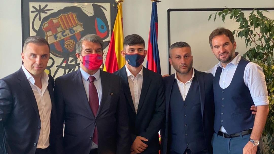 """Transferimi i talentit të Austrisë te Barcelona, """"ka gisht"""" edhe një shqiptar"""