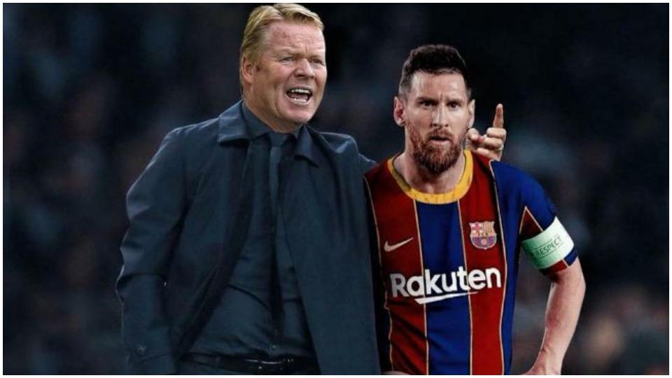 Koeman: Barcelona grup tani, por do doja Messin! Pique e Braithwaite, shembuj