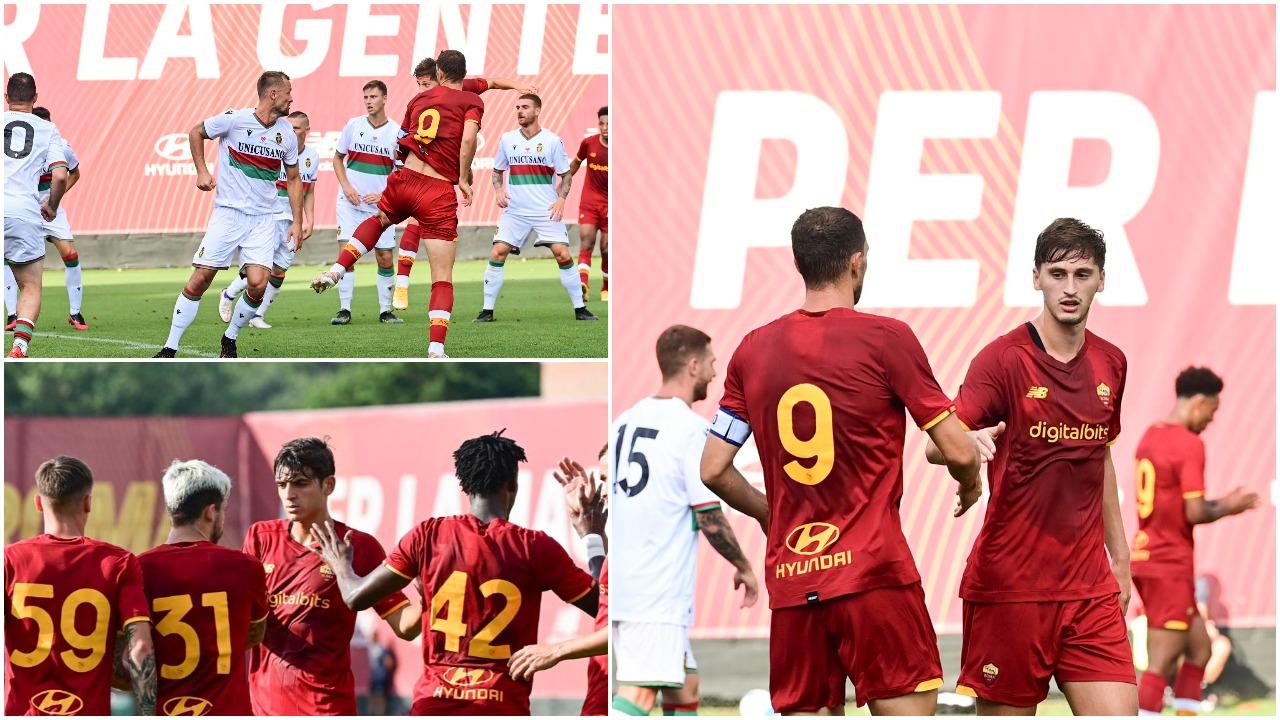 VIDEO/ Roma fiton miqësoren e dytë, Kumbulla një nga autorët e golave