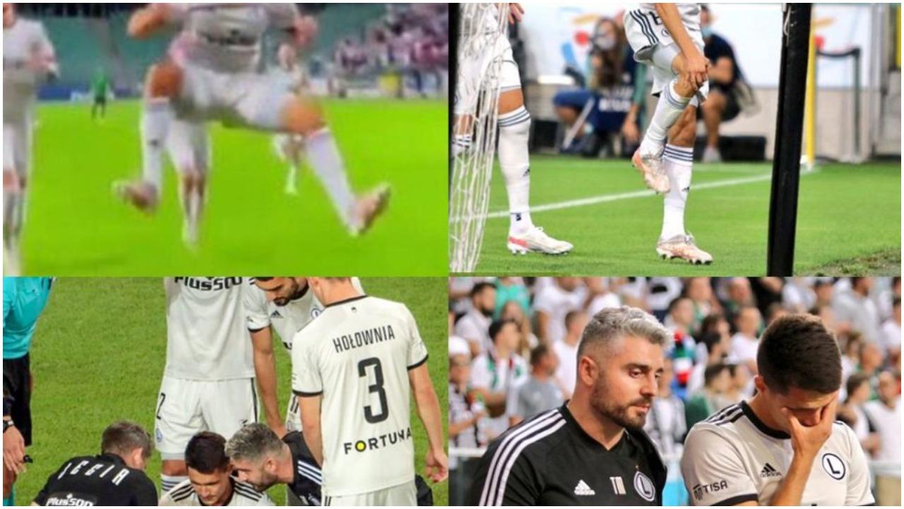 VIDEO/ U dëmtua duke festuar golin e shpejtë, shoku i Muçit 6 muaj jashtë