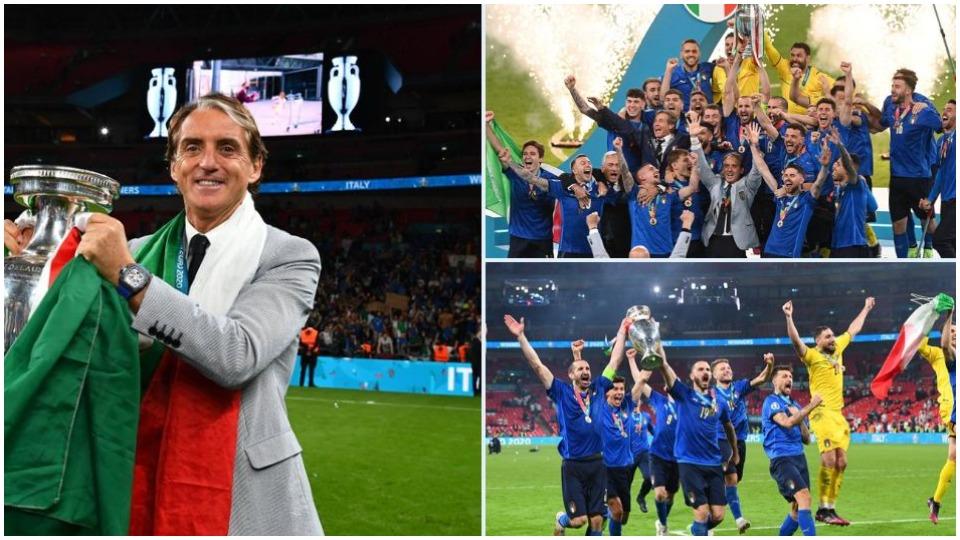 Mancini: Kjo Itali në librat e historisë, festojmë gjatë gjithë verës