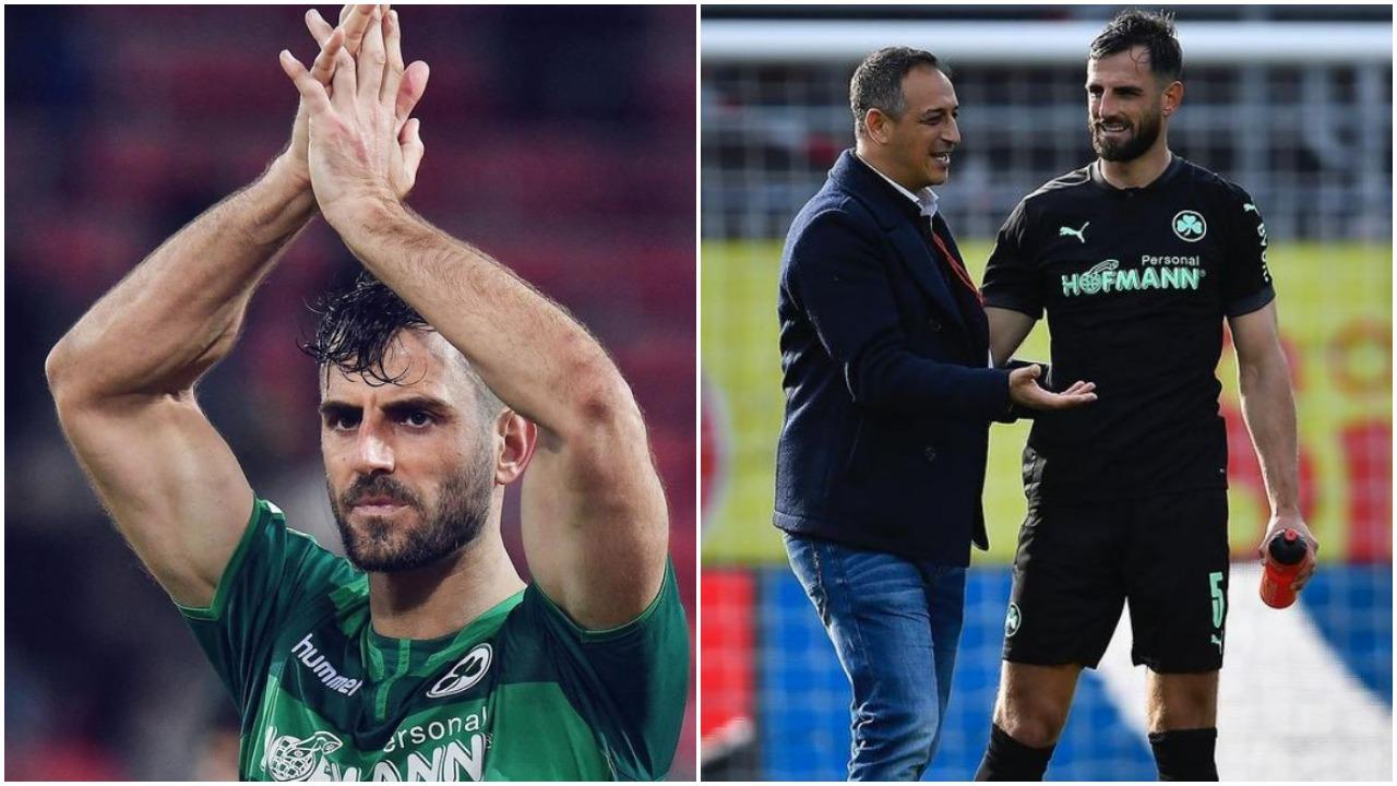"""""""Besimi baza e suksesit, faleminderit"""", Mavraj ndahet me Greuther Furth"""