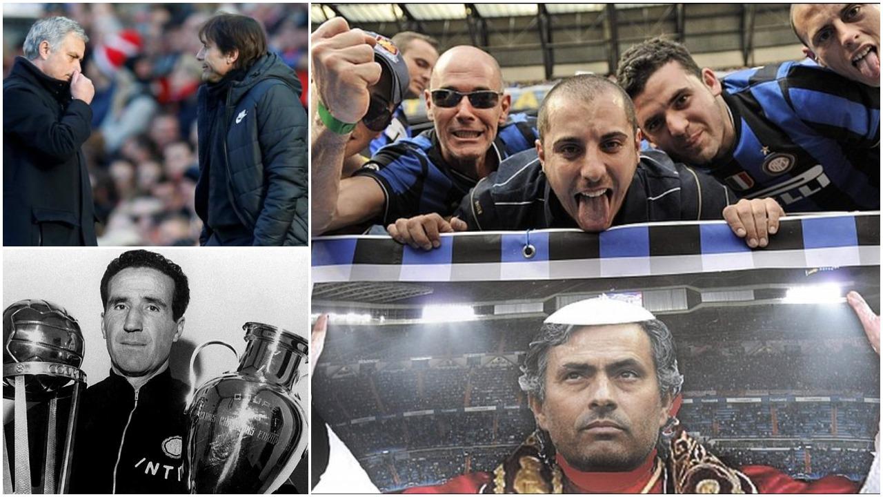 Mourinho thumbon Conten: Tek Interi askush si unë dhe Helenio Herrera