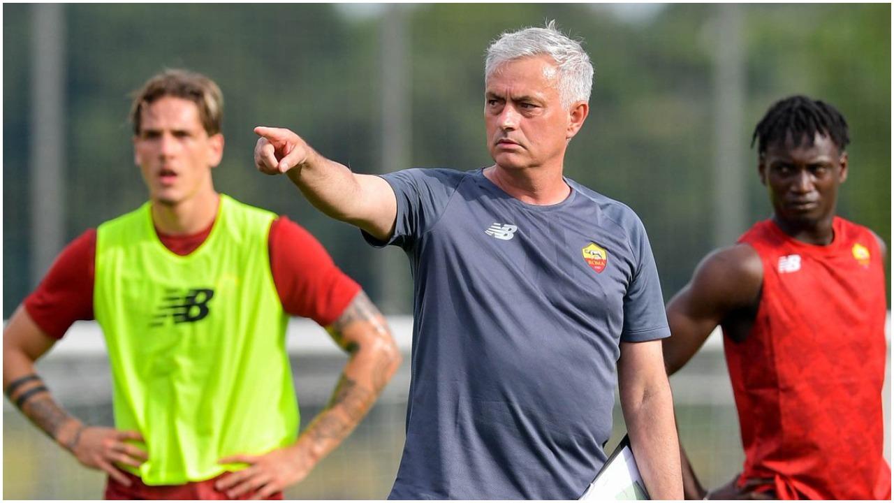 """VIDEO/ """"Çfarë dreqin bën, zgjohu k**e"""", Mourinho shpërthen ndaj talentit të Romës"""