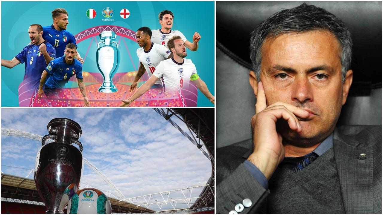 """Mourinho: Mesfusha e Italisë """"top"""", Anglia të kopjojë Spanjën në finale"""