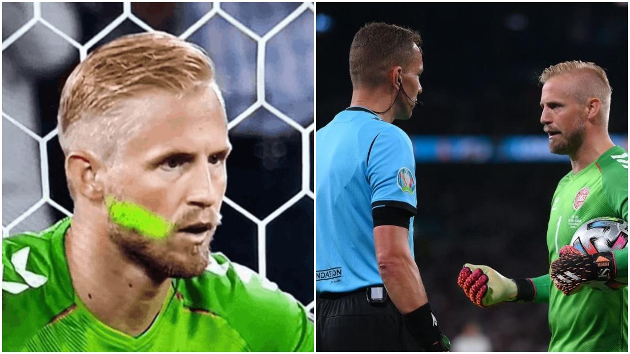 Lazeri ndaj Schmeichel dhe vërshëllimi i himnit, UEFA gjobit Anglinë