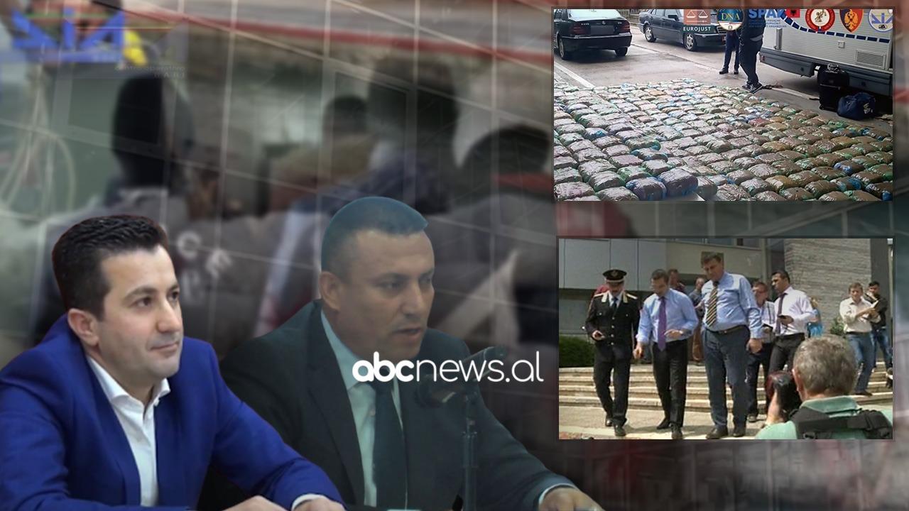Zyrtarët e policisë të arrestuar në megaoperacion mundësonin trafikun e drogës nga Shqipëria në Itali