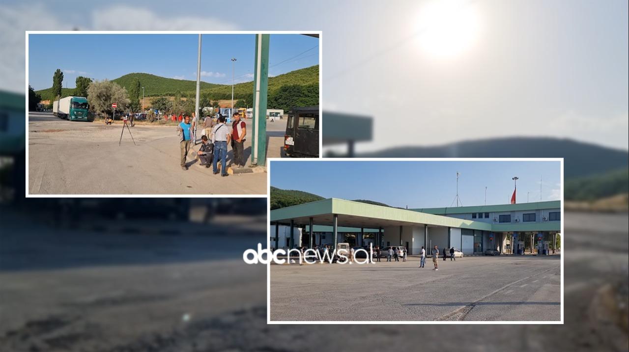 Bllokohen në Qafë-Thanë 150 punëtorë, nuk lejohen të kalojnë në Maqedoninë e Veriut