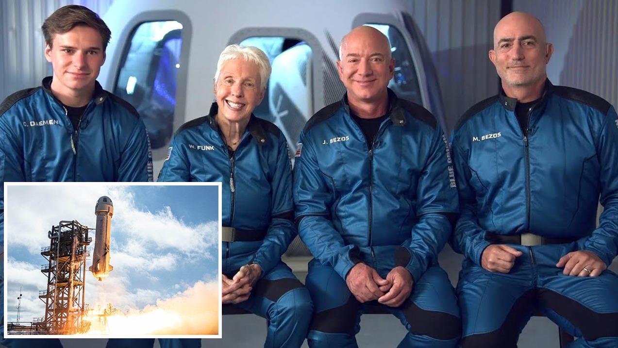 Miliarderi Jeff Bezos do të udhëtojnë sot në hapësirë