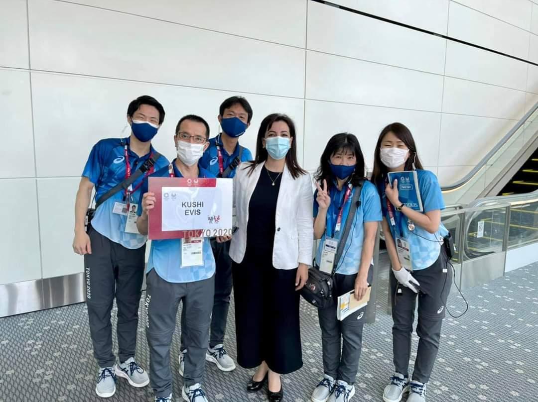 Kushi mbërrin në Tokio: Sportistët tanë elitarë do të na bëjnë të gjithëve krenarë