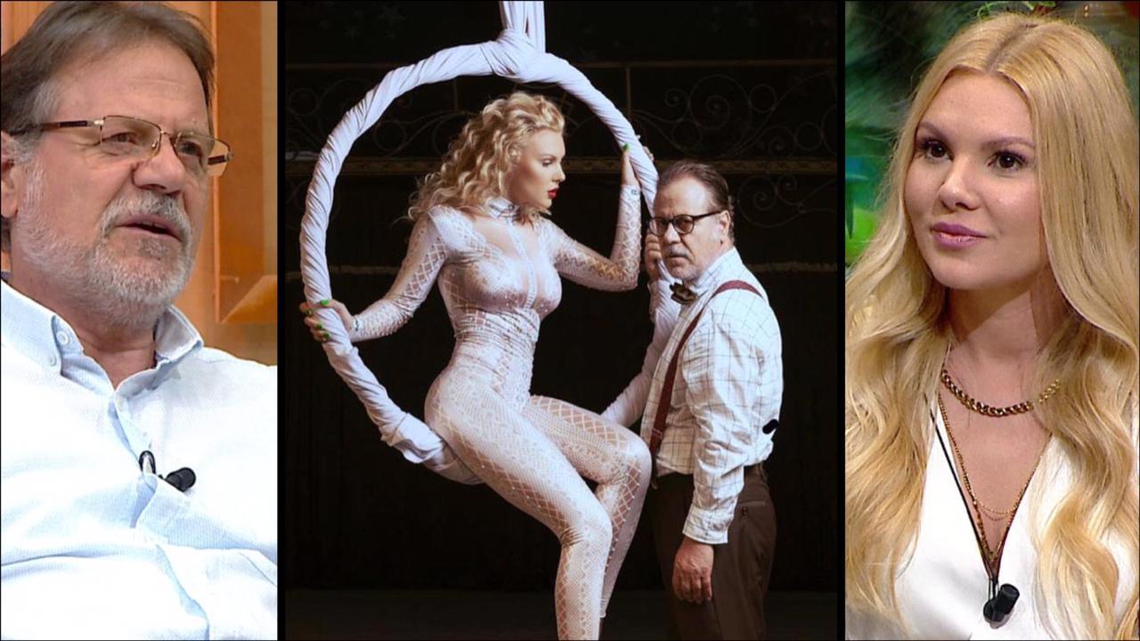 Harrojeni si aktore, befason Laura Nezha si akrobate. Xhelili: Flasim edhe me vete rrugëve