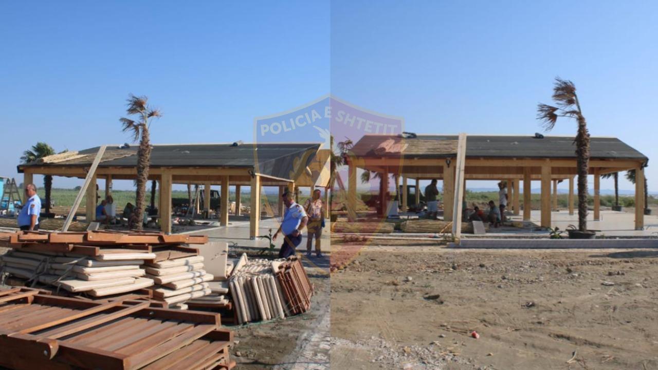 EMRI/ Ndërtoi pa leje në plazhin e Talës, arrestohet 41-vjeçari
