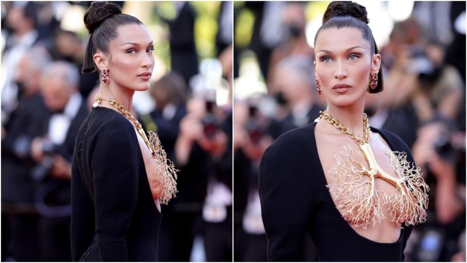 Pse të gjithë po flasin për veshjen e Bella Hadid në Festivalin e Kanës