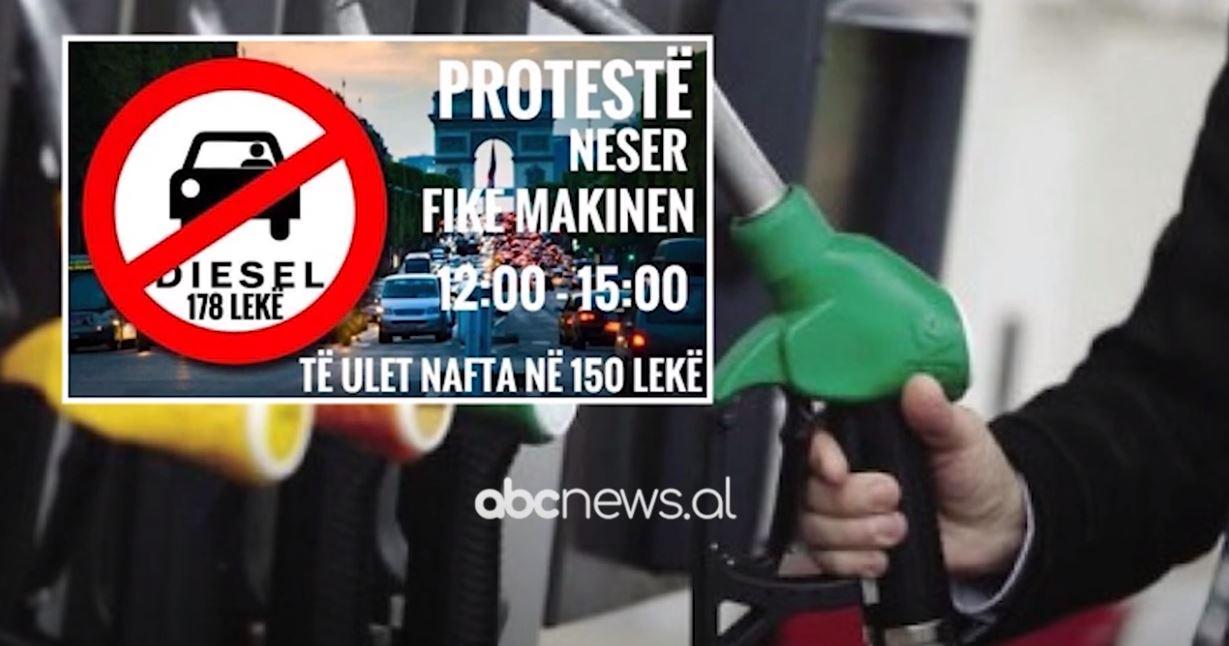 Në 2 javë nafta rritet me 6 lekë për litër, shoferët nuk i përgjigjen thirrjes për protestë