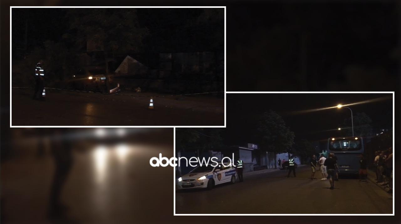 VIDEO/ Aksident në Tiranë, përplasen dy makina dhe një autobus