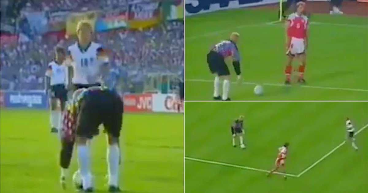 VIDEO/ Të fitosh Europianin me pasime te portieri, precedenti danez që ndryshoi rregulloren e futbollit