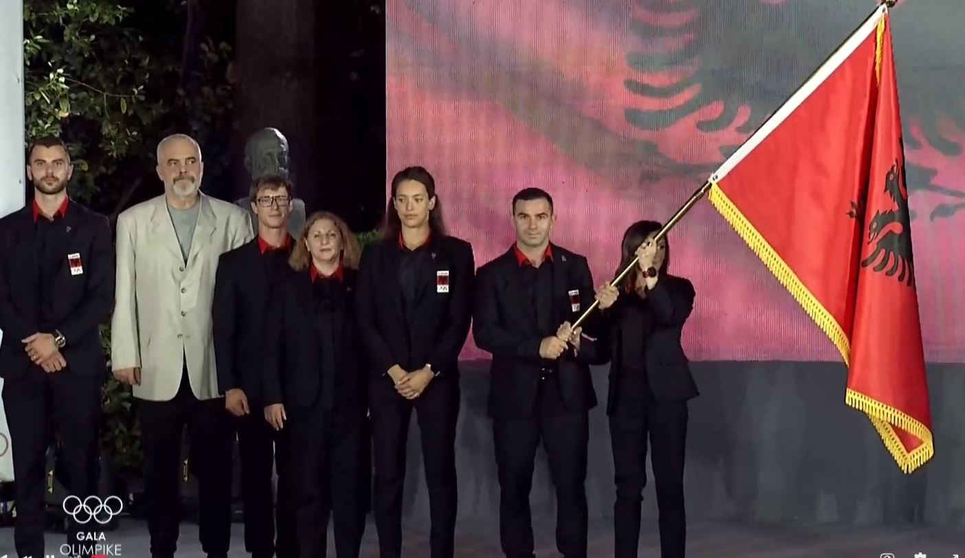 Rama i dorëzon flamurin ekipit olimpik: Rëndësi ka pjesëmarrja, pas Tokios flasim për programin