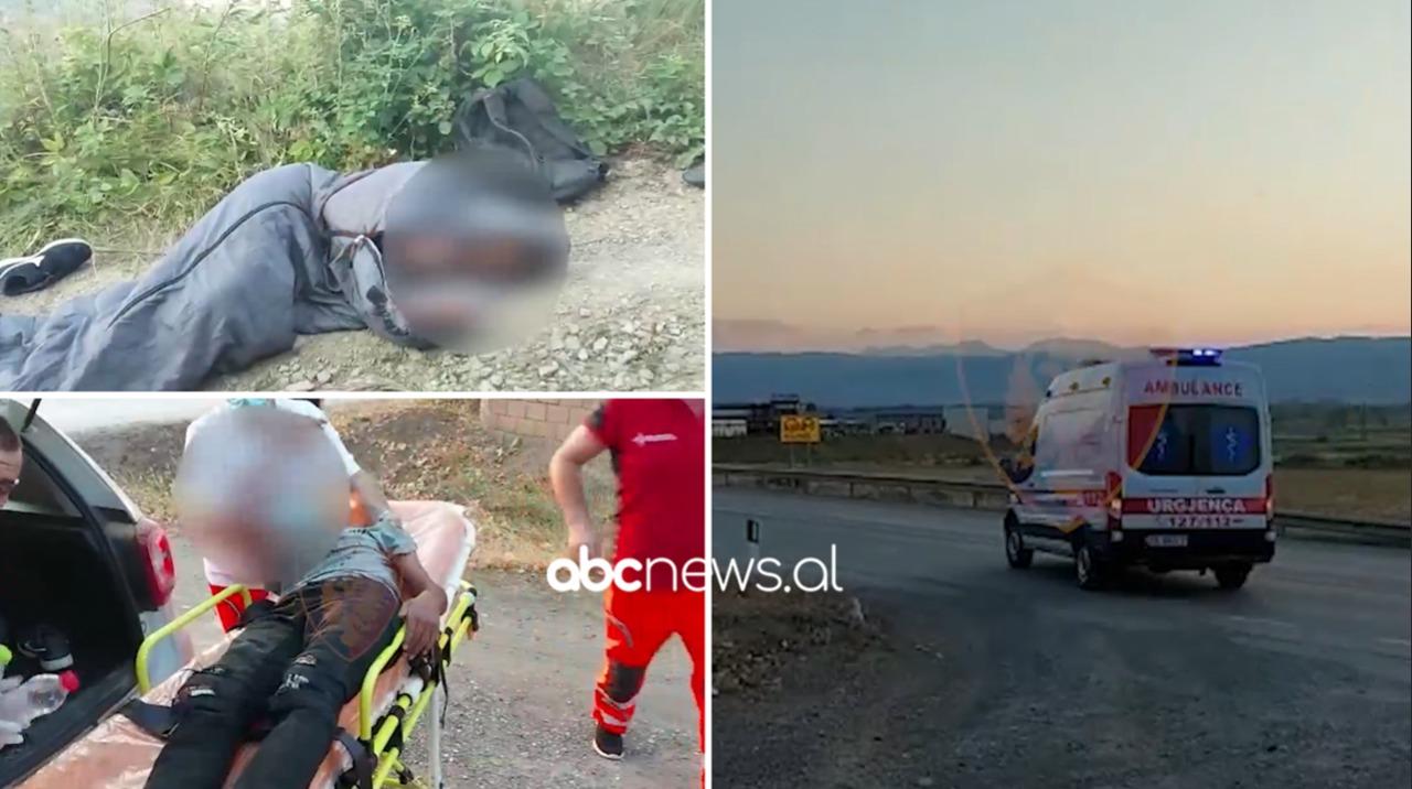 Humbën mes maleve në Devoll, banorët dhe policia gjejnë sirianin me vajzën e mitur
