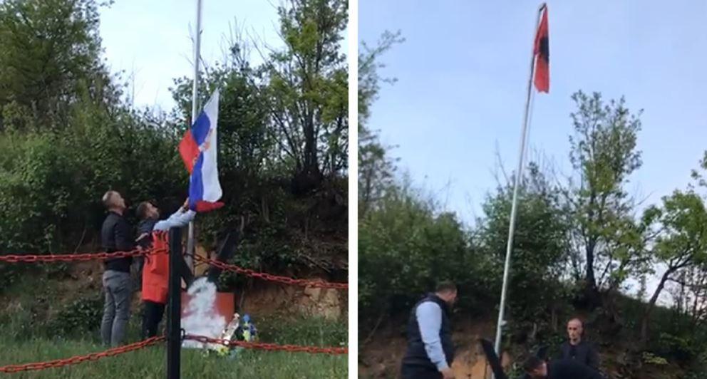 Uli serbin dhe ngriti flamurin kuqezi, Beogradi i kërkon llogari shqiptarit