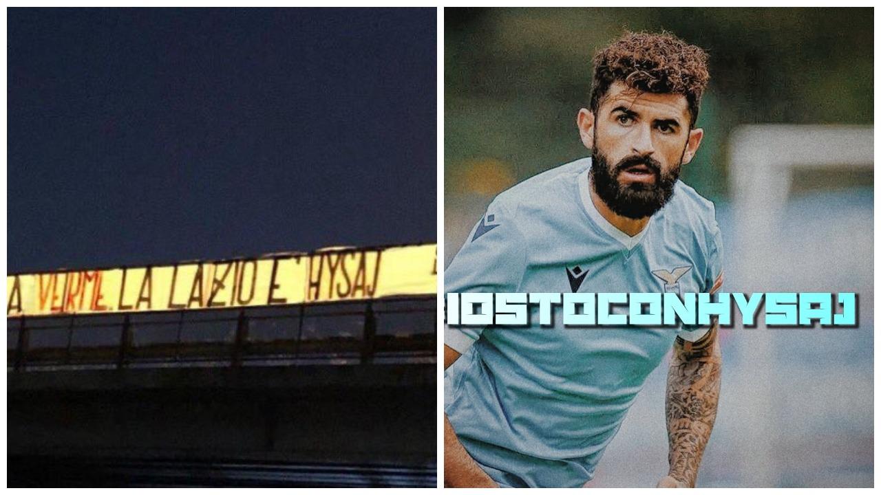 Banderola kundër Hysajt, Lazio tifozëve: Nuk ju kemi frikë dhe as kemi nevojë për ju
