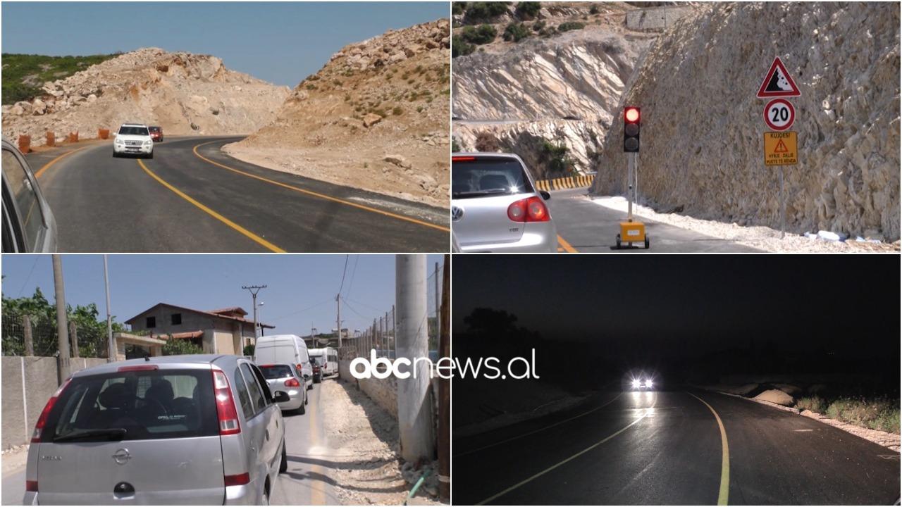 """Në """"By Pass-in"""" e Vlorës mungon sinjalistika, rruga devijon në mes të fshatit Kaninë"""