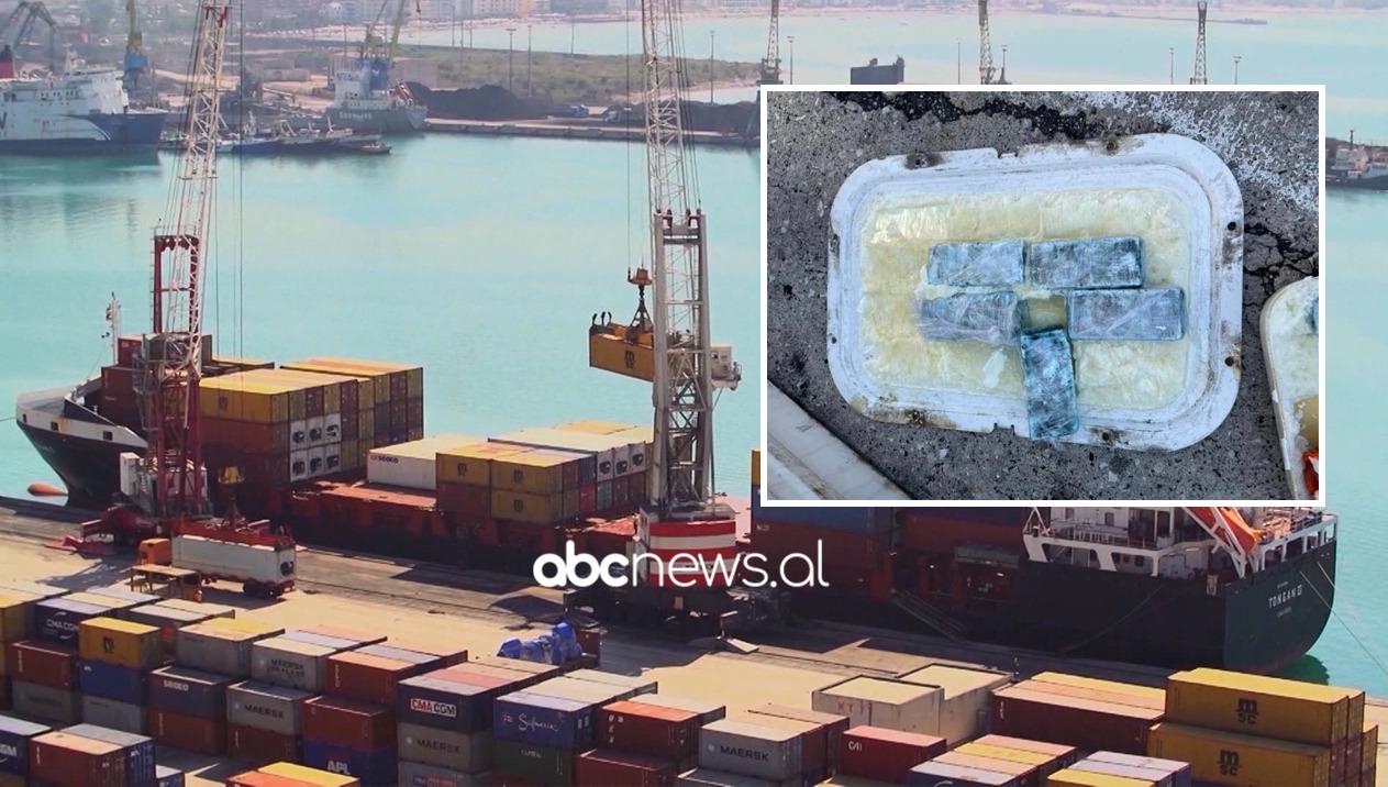 """Kapet 6.5 kg kokainë në portin e Durrësit, ishte në kontejnerët e """"Alba Exotic Fruit"""""""