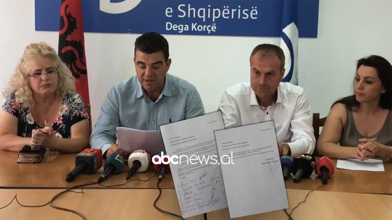 Dorëhiqet kreu i PD-së në Korçë, i bashkohen sekretari dhe 13 anëtarë: Basha arrogant